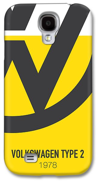Knight Galaxy S4 Case - No009 My Little Miss Sunshine Minimal Movie Car Poster by Chungkong Art