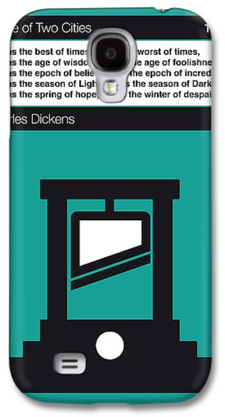 No009 My Tale Of Two Cities Book Icon Poster Galaxy S4 Case
