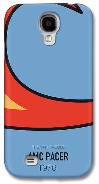 Knight Galaxy S4 Case - No010 My Waynes World Minimal Movie Car Poster by Chungkong Art