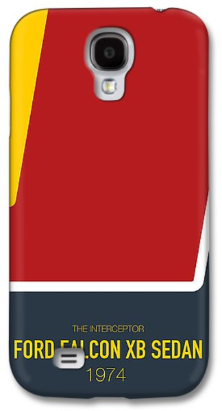 Knight Galaxy S4 Case - No011 My Mad Max Minimal Movie Car Poster by Chungkong Art