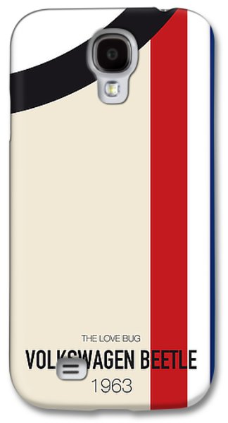 No014 My Herbie Minimal Movie Car Poster Galaxy S4 Case