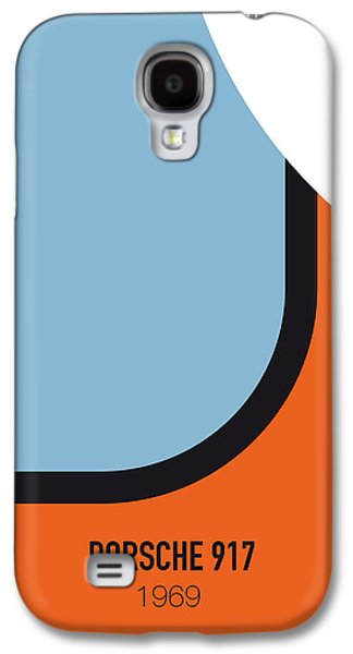 No016 My Le Mans Minimal Movie Car Poster Galaxy S4 Case