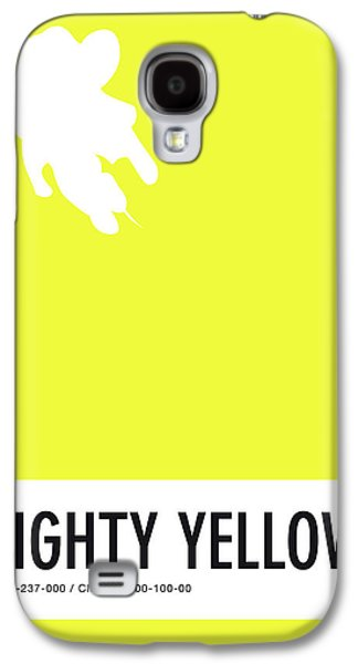 No02 My Minimal Color Code Poster Mighty Mouse Galaxy S4 Case by Chungkong Art