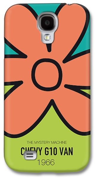 No020 My Scooby Doo Minimal Movie Car Poster Galaxy S4 Case by Chungkong Art