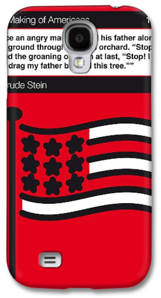 No033-my-the Making Of Americans-book-icon-poster Galaxy S4 Case
