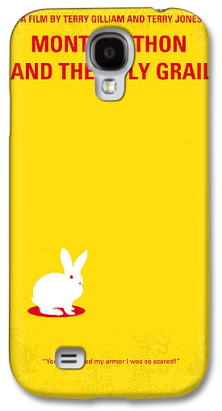 Knight Galaxy S4 Case - No036 My Monty Python And The Holy Grail Minimal Movie Poster by Chungkong Art