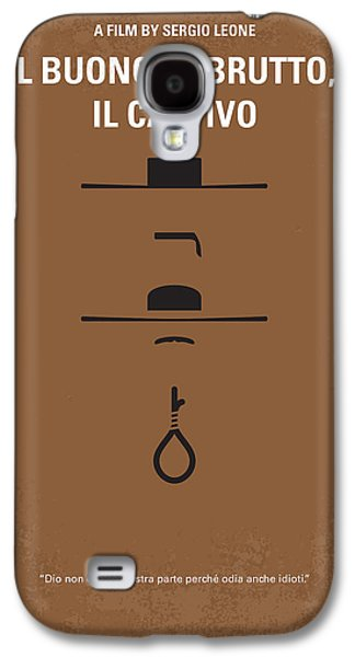No042 My Il Buono Il Brutto Il Cattivo Minimal Movie Poster Galaxy S4 Case