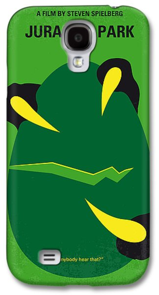 No047 My Jurassic Park Minimal Movie Poster Galaxy S4 Case by Chungkong Art
