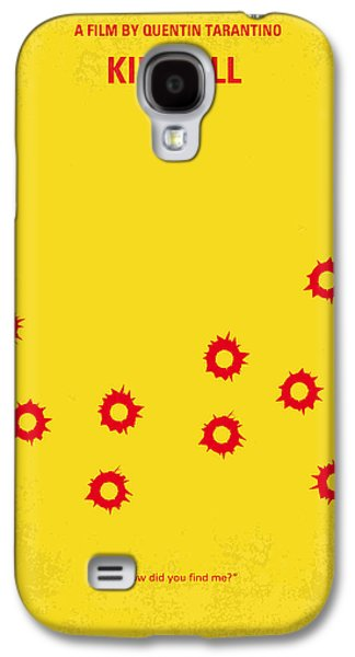 No048 My Kill Bill -part 1 Minimal Movie Poster Galaxy S4 Case