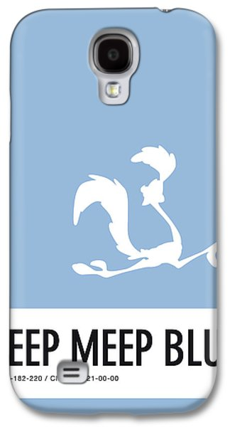 Mice Galaxy S4 Case - No05 My Minimal Color Code Poster Road Runner by Chungkong Art