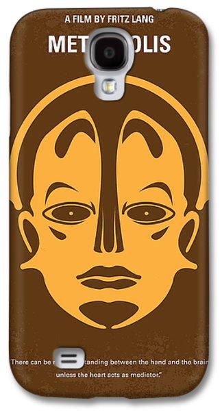 No052 My Metropolis Minimal Movie Poster Galaxy S4 Case