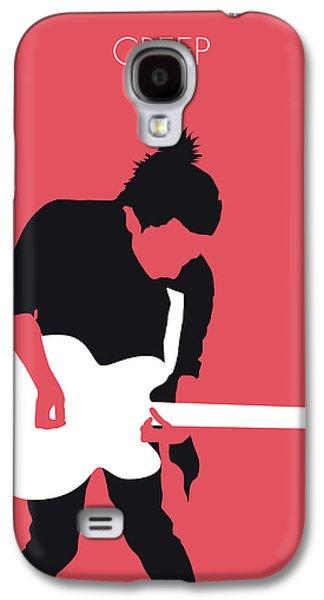 No062 My Radiohead Minimal Music Poster Galaxy S4 Case by Chungkong Art