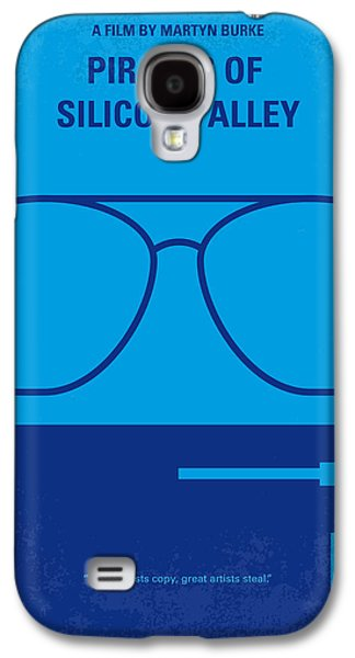 Pirates Galaxy S4 Cases - No064 My Pirates of Silicon Valley minimal movie poster Galaxy S4 Case by Chungkong Art