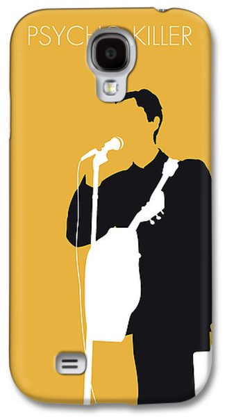 No064 My Talking Heads Minimal Music Poster Galaxy S4 Case by Chungkong Art