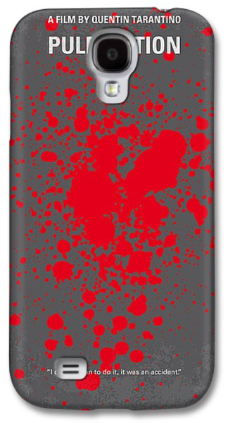 No067 My Pulp Fiction Minimal Movie Poster Galaxy S4 Case