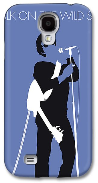 No068 My Lou Reed Minimal Music Poster Galaxy S4 Case
