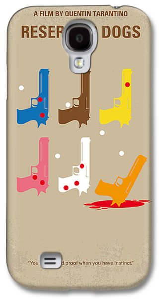 Sound Digital Galaxy S4 Cases - No069 My Reservoir Dogs minimal movie poster Galaxy S4 Case by Chungkong Art