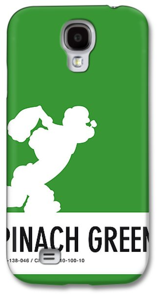 Mice Galaxy S4 Case - No07 My Minimal Color Code Poster Popeye by Chungkong Art