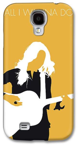 No074 My Sheryl Crow Minimal Music Poster Galaxy S4 Case by Chungkong Art