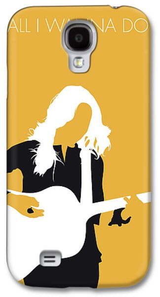 Crow Galaxy S4 Case - No074 My Sheryl Crow Minimal Music Poster by Chungkong Art