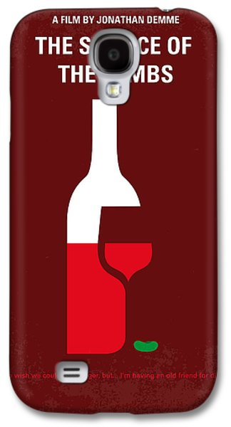 No078 My Silence Of The Lamb Minimal Movie Poster Galaxy S4 Case by Chungkong Art