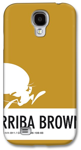 Mice Galaxy S4 Case - No08 My Minimal Color Code Poster Speedy by Chungkong Art