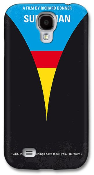 Planet Galaxy S4 Cases - No086 My Superman minimal movie poster Galaxy S4 Case by Chungkong Art