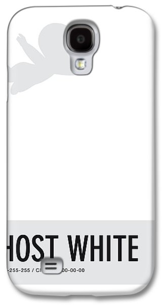 No09 My Minimal Color Code Poster Casper Galaxy S4 Case by Chungkong Art