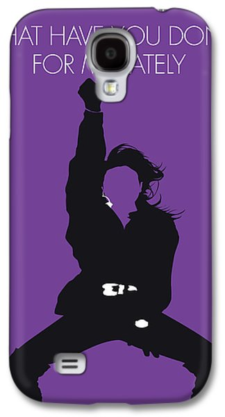 Rhythm And Blues Galaxy S4 Case - No091 My Janet Jackson Minimal Music Poster by Chungkong Art