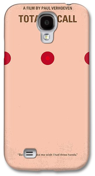 No097 My Total Recall Minimal Movie Poster Galaxy S4 Case by Chungkong Art