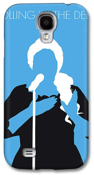 No099 My Adele Minimal Music Poster Galaxy S4 Case