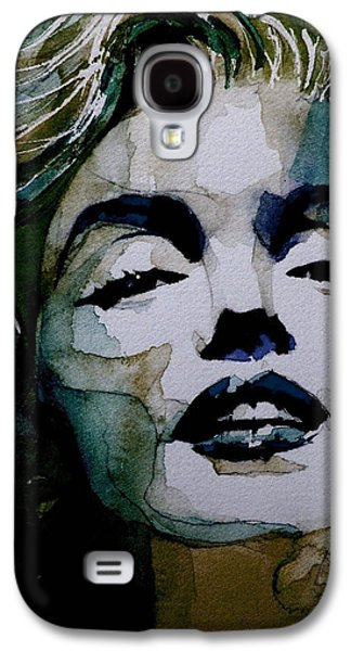 No10 Larger Marilyn  Galaxy S4 Case by Paul Lovering