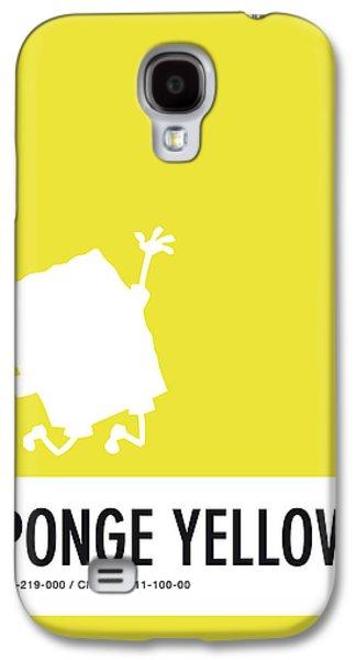 No10 My Minimal Color Code Poster Spongebob Galaxy S4 Case