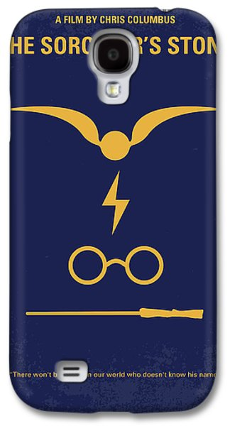 No101-1 My Hp - Sorcerers Stone Minimal Movie Poster Galaxy S4 Case by Chungkong Art