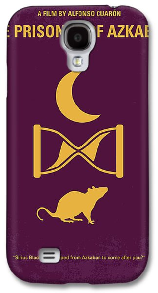 No101-3 My Hp - Prisoner Of Azkaban Minimal Movie Poster Galaxy S4 Case by Chungkong Art