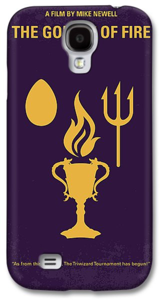 No101-4 My Hp - Goblet Of Fire Minimal Movie Poster Galaxy S4 Case by Chungkong Art