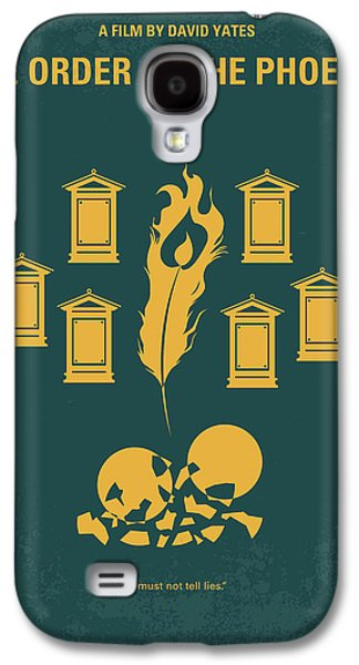 No101-5 My Hp - Order Of The Phoenix Minimal Movie Poster Galaxy S4 Case
