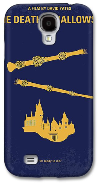 No101-8 My Hp - Deathly Hallows II Minimal Movie Poster Galaxy S4 Case by Chungkong Art
