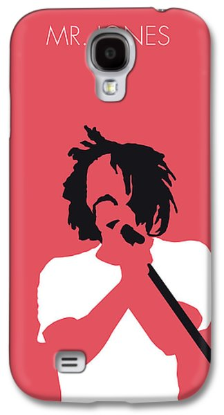 Crow Galaxy S4 Case - No102 My Counting Crows Minimal Music Poster by Chungkong Art