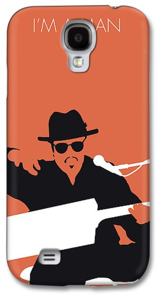 Rhythm And Blues Galaxy S4 Case - No103 My Bo Diddley Minimal Music Poster by Chungkong Art