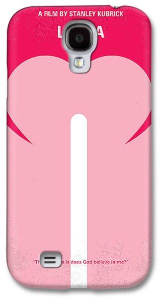 No109 My Lolita Movie Poster Galaxy S4 Case by Chungkong Art