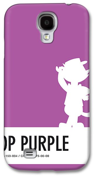 Pig Galaxy S4 Case - No11 My Minimal Color Code Poster Top Cat by Chungkong Art