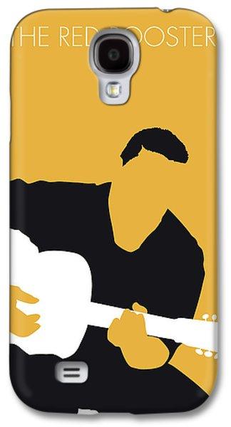 Folk Art Galaxy S4 Case - No124 My Howlin Wolf Minimal Music Poster by Chungkong Art
