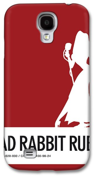 Mouse Galaxy S4 Case - No14 My Minimal Color Code Poster Jessica Rabbit by Chungkong Art