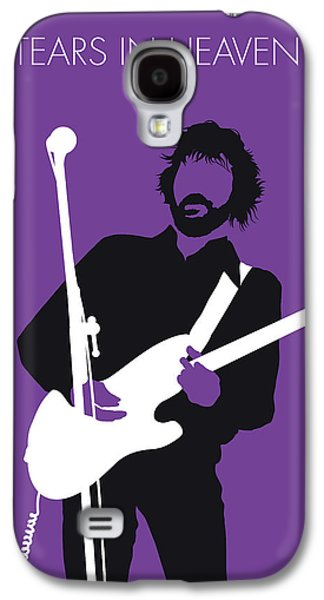 No141 My Eric Clapton Minimal Music Poster Galaxy S4 Case