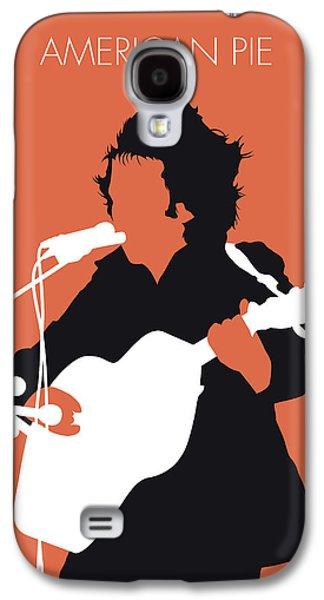 Folk Art Galaxy S4 Case - No143 My Don Mclean Minimal Music Poster by Chungkong Art