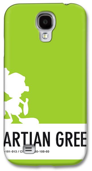 No15 My Minimal Color Code Poster Marvin Galaxy S4 Case by Chungkong Art