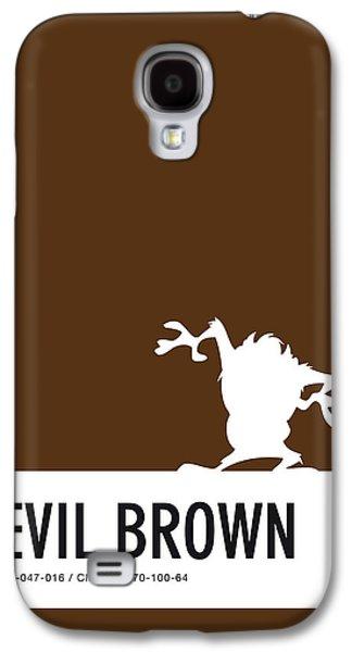 No16 My Minimal Color Code Poster Tasmanian Devil Galaxy S4 Case