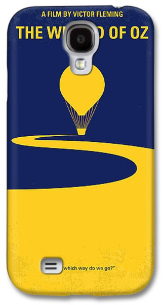 Wizard Galaxy S4 Case - No177 My Wizard Of Oz Minimal Movie Poster by Chungkong Art