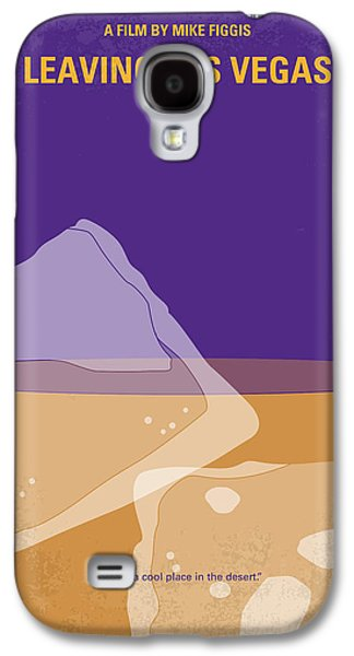 No180 My Leaving Las Vegas Minimal Movie Poster Galaxy S4 Case by Chungkong Art